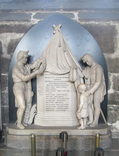 War Memorial, Indian North West Frontier 1863