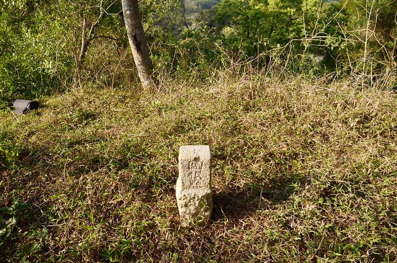 紅子坑山(甕子坑山)冠字山(40)土地調查局圖根點(Elev. 187 m)