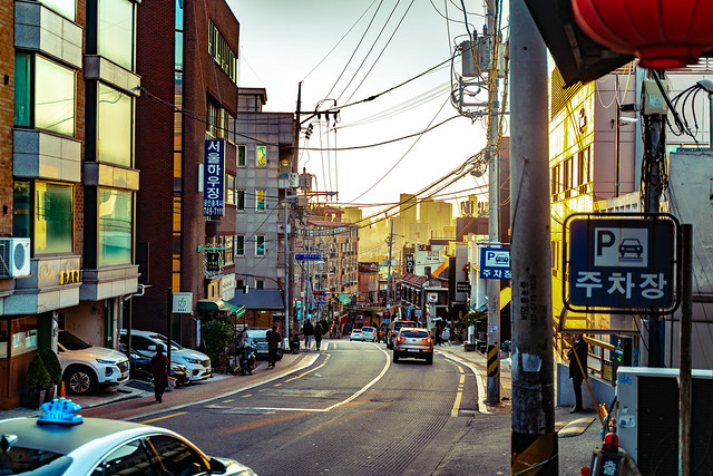 Sunset in Itaewon