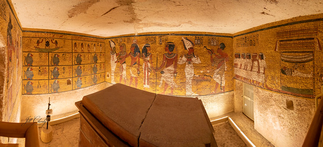 Inside King Tut's Tomb
