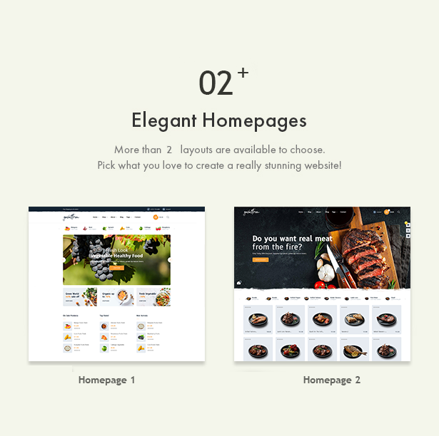 Galvatron Food & Restaurant PrestaShop Theme