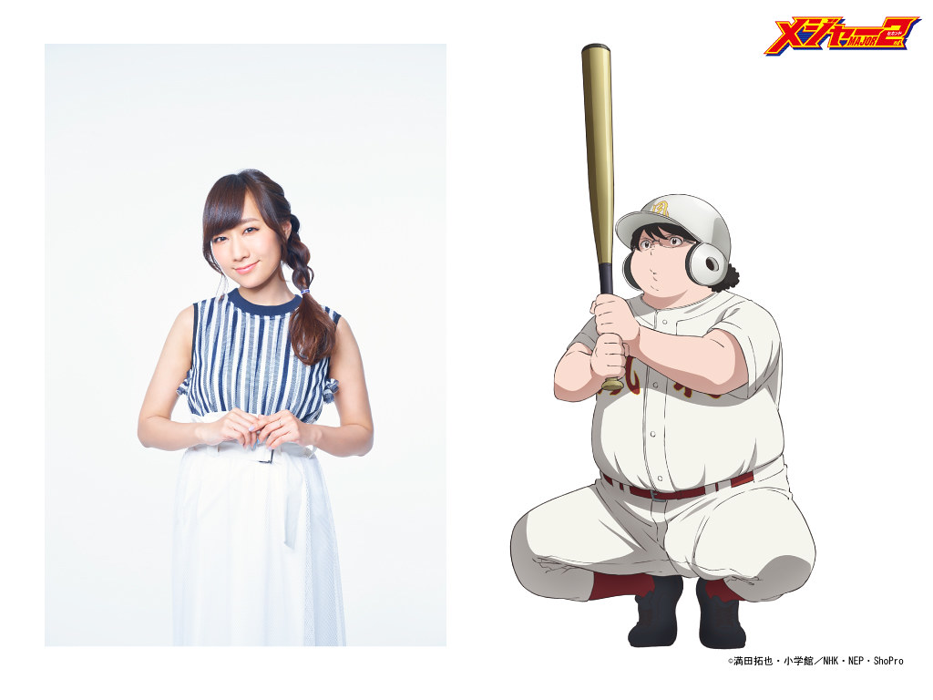 200319(2) -「高垣彩陽×杉田智和」先發壓軸、NHK動畫《棒球大聯盟 MAJOR 2nd》第二期發表第4批聲優、於4/4首播!