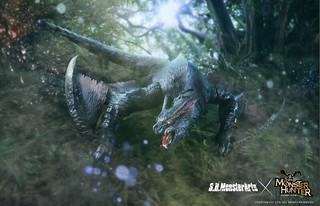 紅煌流星強勢襲來!S.H.MonsterArts《魔物獵人》系列首作「迅龍」可動模型 登場(迅竜 ナルガクルガ)