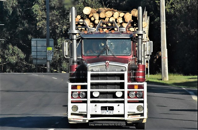 Kenworth Logger comes into to Mirboo North