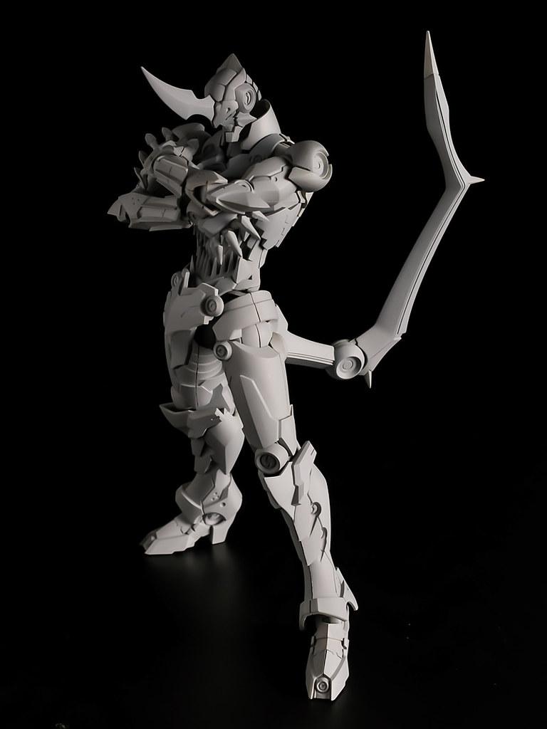千值練 PLAIOBOT《天元突破紅蓮螺巖》組裝模型第一彈:紅蓮螺巖(プライオボット グレンラガン)商品情報公開!