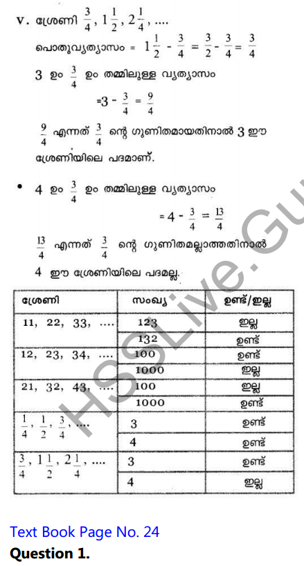 Kerala Syllabus 10th Standard Maths Solutions Chapter 1 Arithmetic Sequences in Malayalam 29
