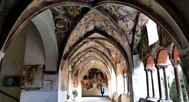 Bressanone (Brixen) - Südtirol (Trentino-Alto Adige, It.) [3] - Cloître peint - Andrà tutto BENE