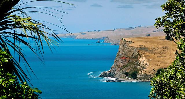Banks Peninsula. NZ.