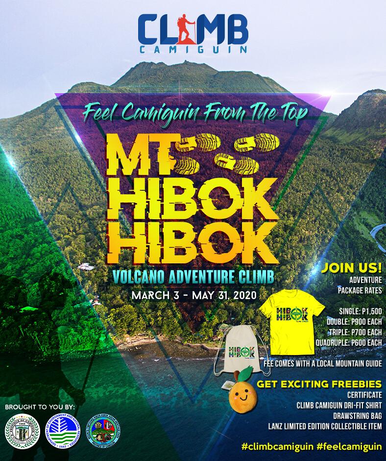 Climb Camiguin Promo 2020