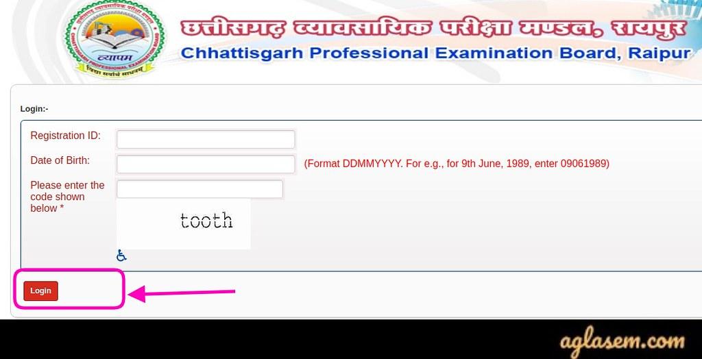 CG PPT 2020 Application Status