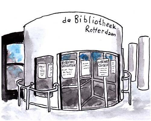 Bibliotheek gesloten / library closed | by h e r m a n