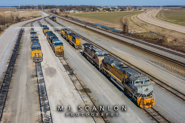 UP 1989 | EMD SD70ACe | UP Marion Intermodal Railport