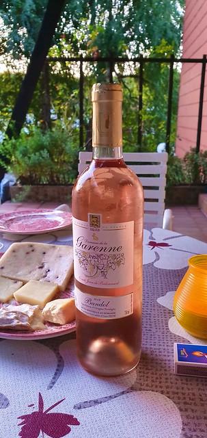 928 France - Lorraine - Forbach, charcuterie italienne de chez Rocchi, mais Bandol rosé