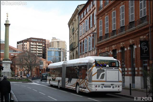 Heuliez Bus GX 427 BHNS – Tisséo n°1667