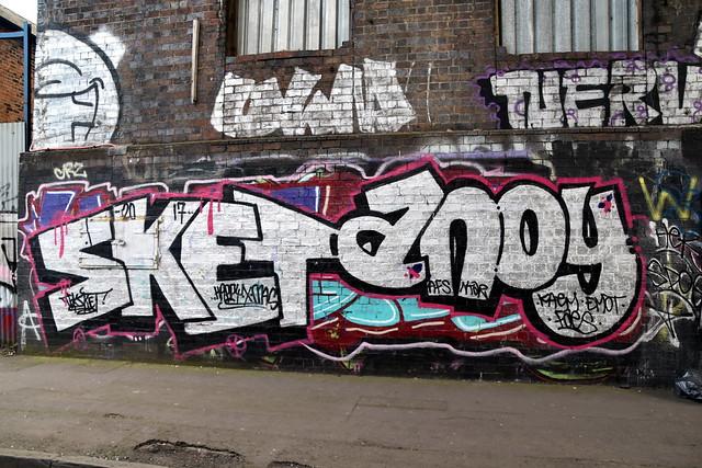 Grafitt at Digbeth, Birmingham.