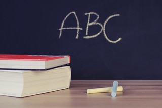 Abc books chalk chalkboard  - Credit to https://homegets.com/ | by homegets.com