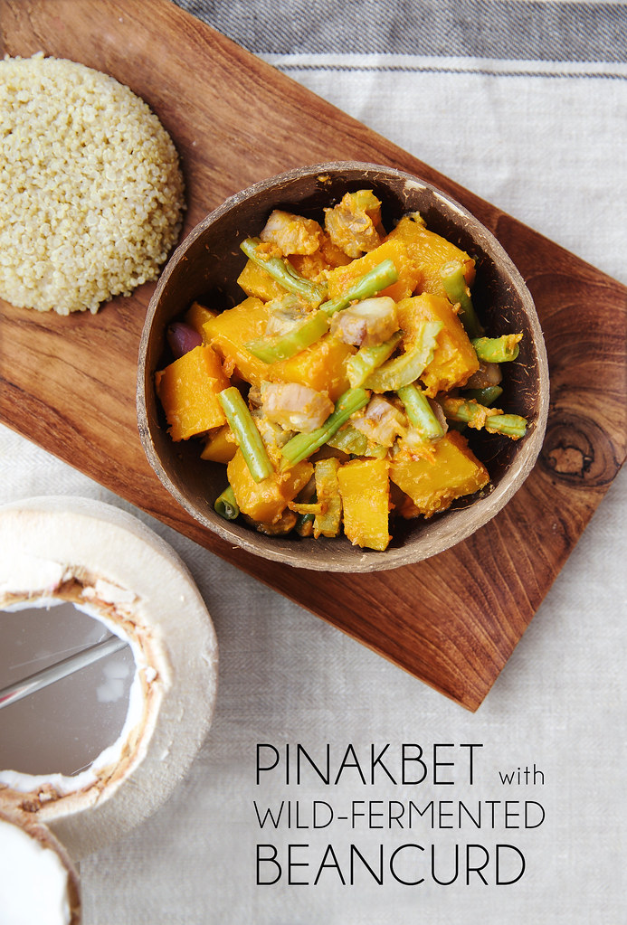 Pinakbet with Wild-Fermented Beancurd