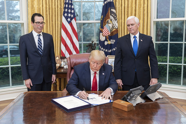 President Trump Signs the Families First Coronavirus Response Act