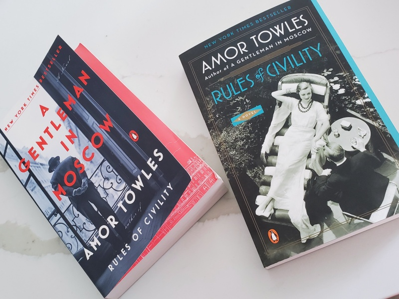Amor Towles books