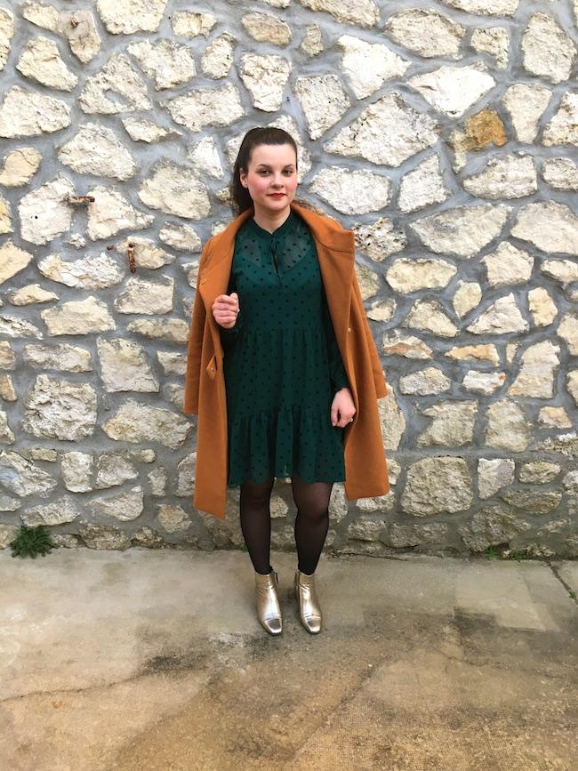 looks-robe-verte-pois-2-facons-blog-mode-la-rochelle-2