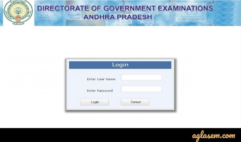 Login Portal to Download Andhra Pradesh SSC Hall Tickets