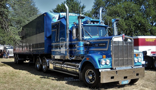 Fate Express Kenworth at Lancefield