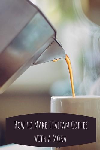 How to make an Italian Coffee with a Moka