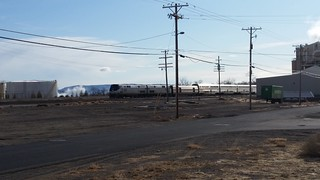 Amtrak Passing the Cloud