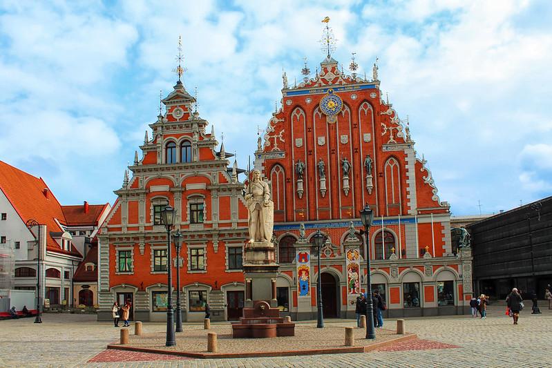 Riga. House of the Blackheads