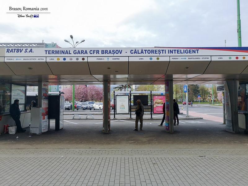 2019 Romania Brasov Bus Station