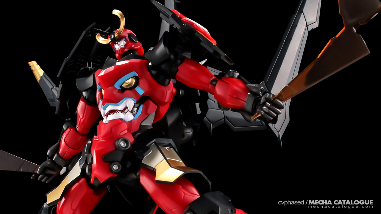 Build-it-Yourself RIOBOT Model Kit: PLAIOBOT Gurren Lagann