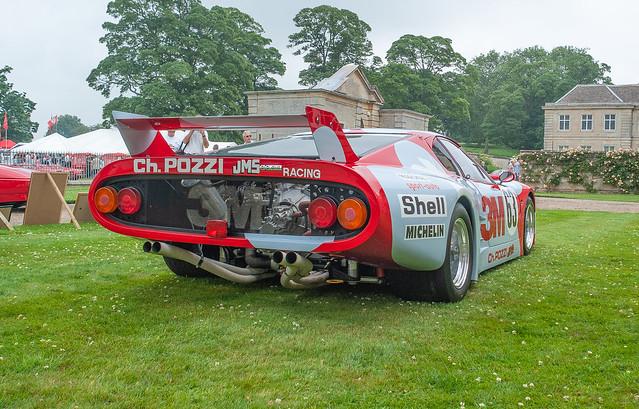 Ferrari 512 BB Le Mans Race Car Sponsored by 3M