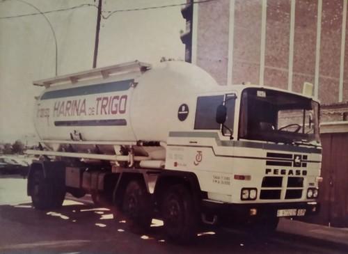 Pegaso transport de farina Igualada