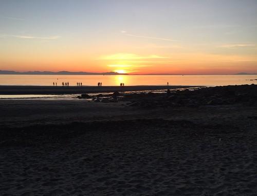 coucherdesoleil sunset tramonto atardecer vancouver wreckbeach salishsea