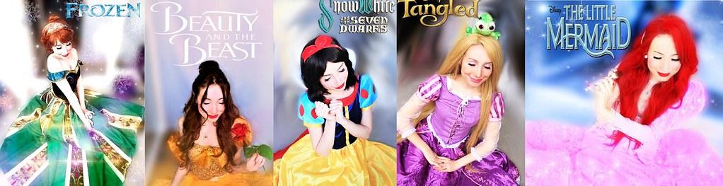 Disney Princess by Sarina Rose