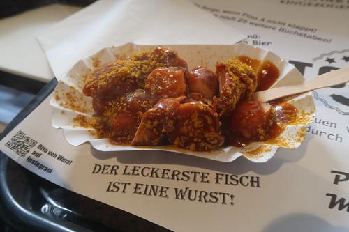 """Currywurst bei """"Otto von Wurst"""" (an der Friedrichstraße in Westerland)"""