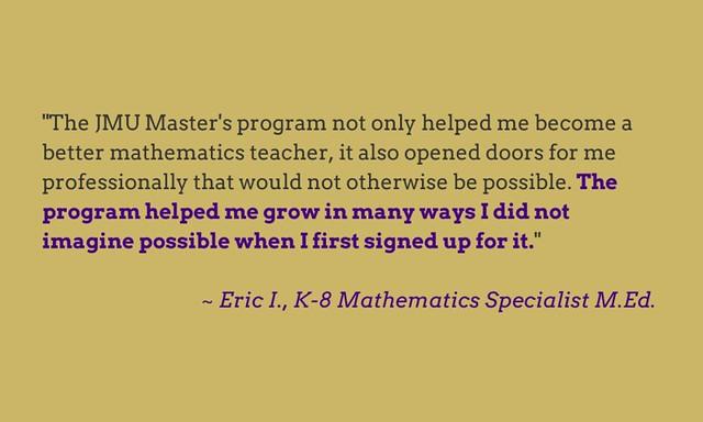 K-8 Math Specialist Testimonials