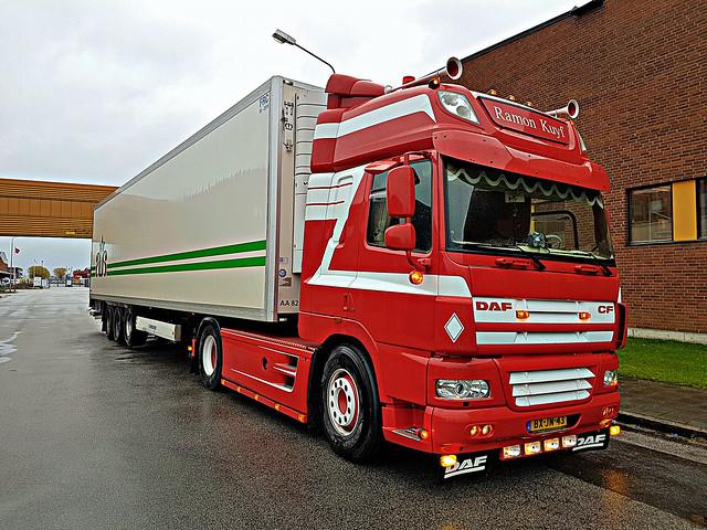 DAF CF 85 SSC - Ramon Kuyf Transport - Alex Andersen Ølund AS Danmark