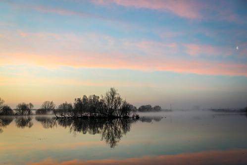elbe süderelbe hamburg deutschland germany lake see reflection spiegelung morgen morning sunrise sonnenaufgang nikon d3300 explore explored