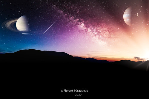 word monde irréel unreal madewithluminar4 flickr luminar 4 skylum mountains sunset idea sky planets planet stars star sun pink blue yellow canon eos1d mark iv ef24105mm f4l is usm canoneos1dmarkiv ef24105mmf4lisusm