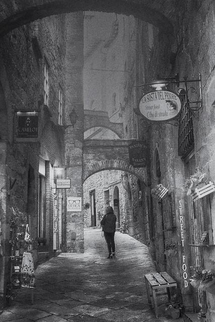 Street photography Volterra