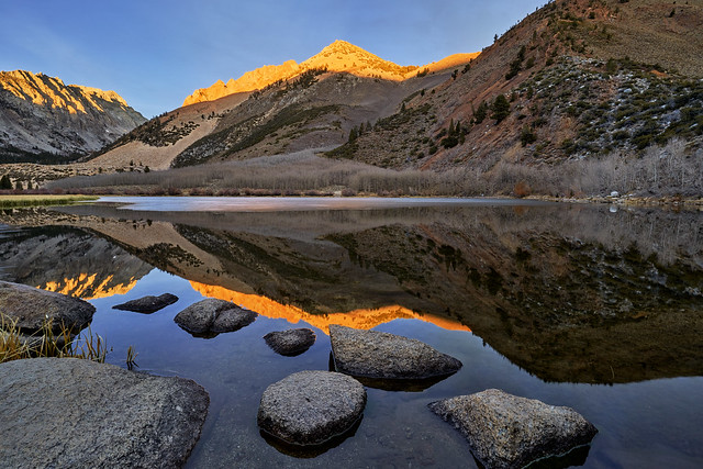 Alpenglühen - Sunrise North Lake, California