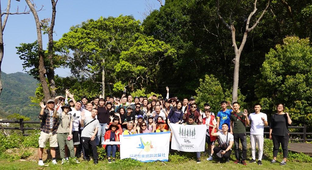 2020一樹一山有一百多位的民眾參加,在尖石鄉種下180棵流蘇。