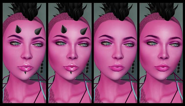 Helena Stringer - Free*Style - Nebula Skins - Faces