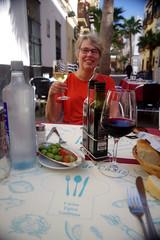 Lunch in Cadiz