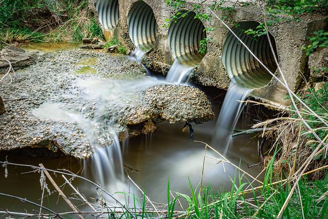 Modern Waterfall