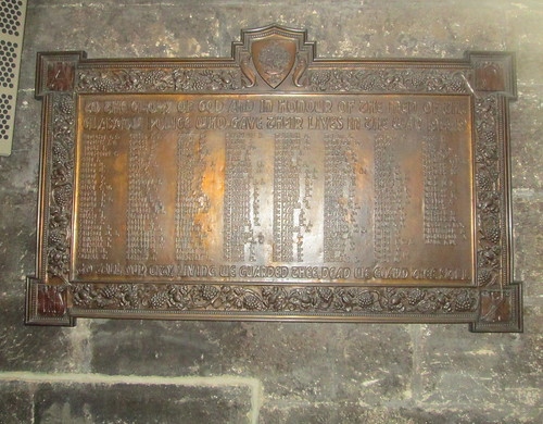 Great War Memorial Glasgow Cathedral