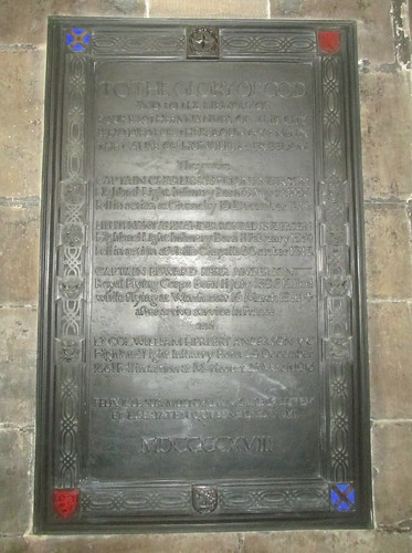 Memorial to Four Brothers of the Great War, Glasgow Cathedral