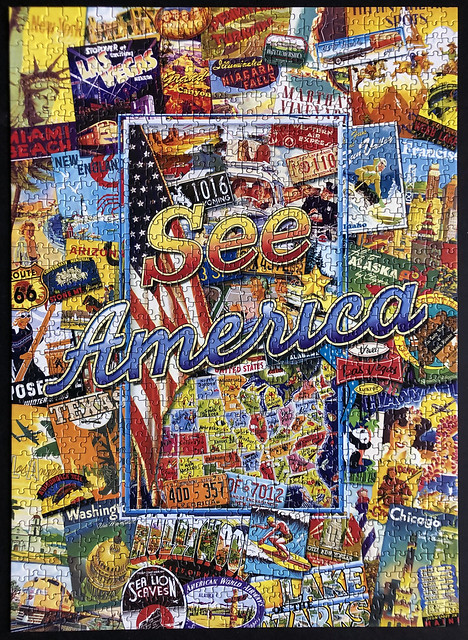 See America (1000 pieces)