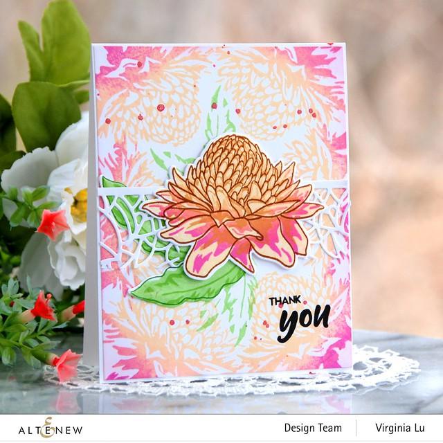 Altenew-Build--Flower-Torch Ginger-Virginia#1